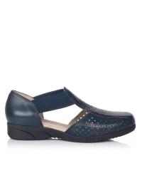 Sandalia elasticos piel Mujer Pitillos 2911