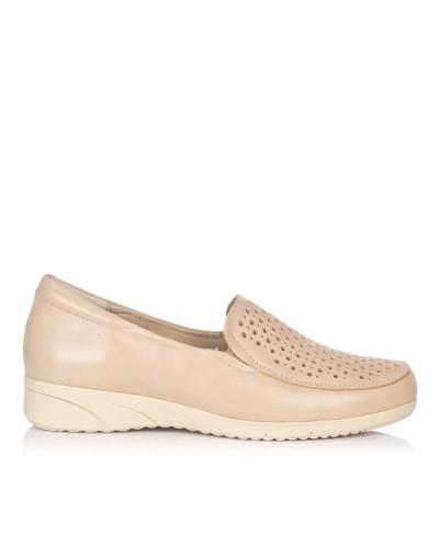 Zapato mocasin piel Mujer Pitillos 2912