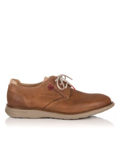 Zapato cordon liso piel Hombre Fluchos F0333