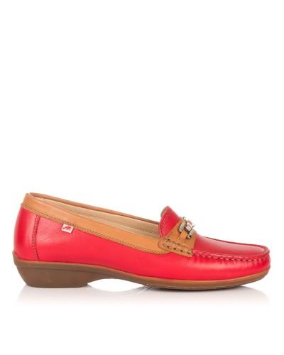 Zapato mocasin adorno Mujer Fluchos 512