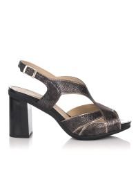 Sandalia piel plataforma Mujer Pitillos 5582