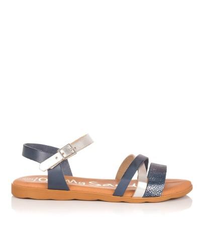 Sandalia piel plana Mujer Oh my sandals 4304