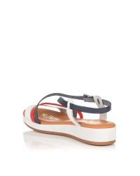 Sandalia piel combi Mujer Oh my sandals 4325