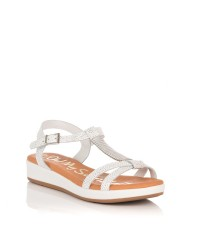 Sandalia metal piel Mujer Oh my sandals 4324