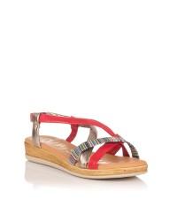Sandalia tubulares piel Mujer Oh my sandals 4331