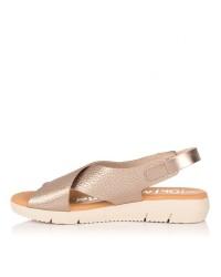 Sandalia piel suela goma Mujer Oh my sandals 4311