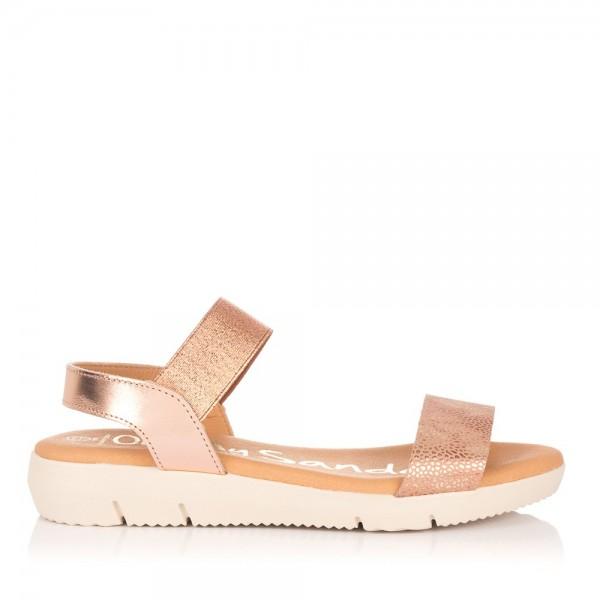Sandalia piel elasticos Mujer Oh my sandals 4313