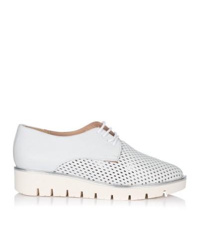 Zapato cordones piel Mujer Maria jaen 8021