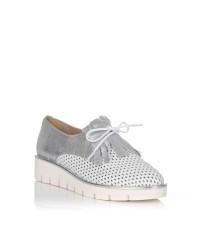 Zapato flecos piel Maria jaen 8022