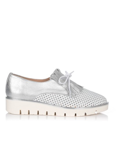 Zapato flecos piel Mujer Maria jaen 8022