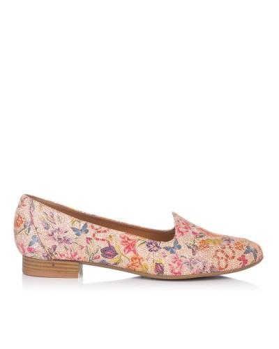 Zapato estampado piel Mujer Maria jaen 8013