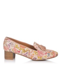 Zapato borlas estampado Mujer Maria jaen 8018