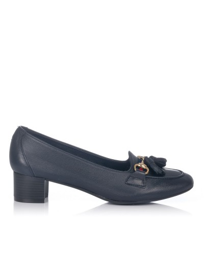 Zapato borlas tacon medio Mujer Maria jaen 3
