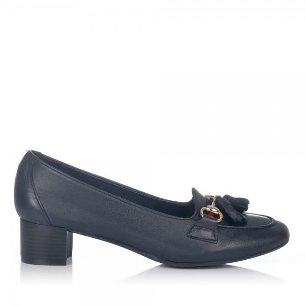 Zapato borlas tacon medio Maria jaen 3