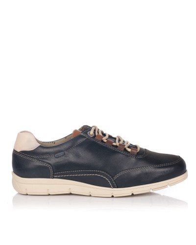 Zapato deportivo piel Hombre Baerchi 4335