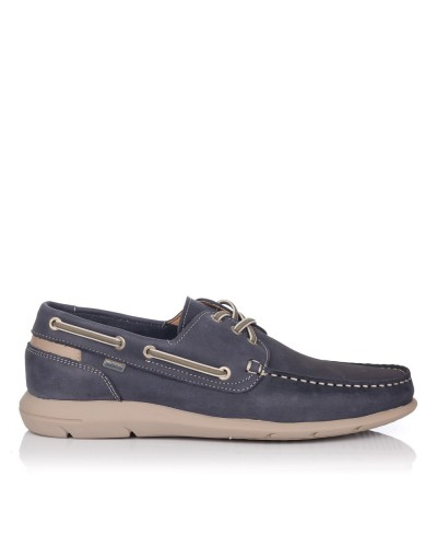 Zapato nautico piel Hombre Baerchi 7950