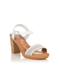 Sandalia tacon alto piel Mujer Oh my sandals 4382