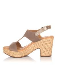 Sandalia ante plataforma Mujer Oh my sandals 4375