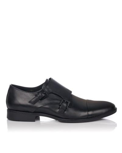 Zapato hebillas vestir piel Hombre T2in R-290
