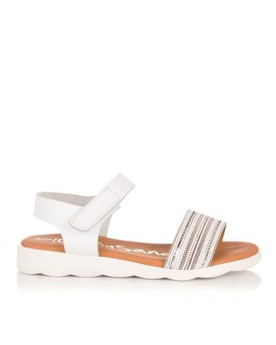 Sandalia piel Niñas Oh my sandals 4404