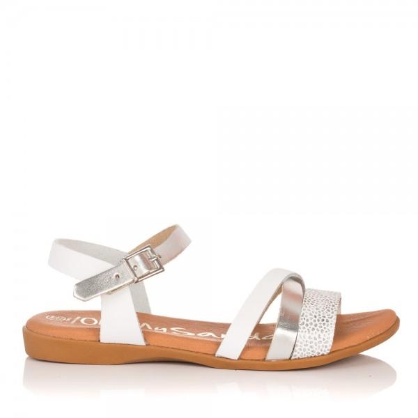 Sandalia tiras piel Niñas Oh my sandals 4406