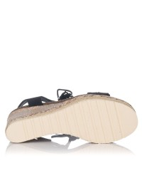 Sandalia cordones cuña Mujer Refresh 69827