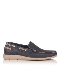 Zapato mocasin piel Baerchi 7951