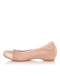 Bailarina piel cuña interior Mujer Lince 93805