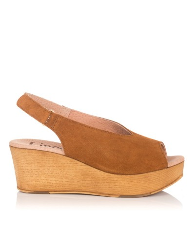 Sandalia ante plataforma Mujer Lince 90516