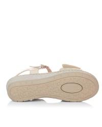 Sandalia velcro piel Mujer Riposella 6269