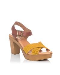 Sandalia piel plataforma Gomez 650