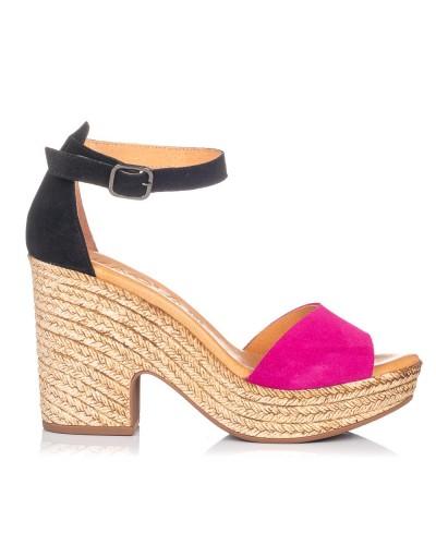 Sandalia gilda plataforma Mujer Gomez 420
