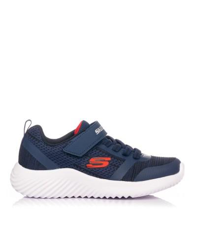 Zapatilla velcro bounder Niños Skechers 98302L