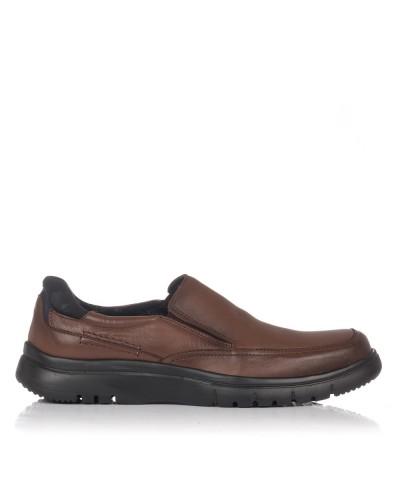 Zapato mocasin piel Hombre Baerchi 5054
