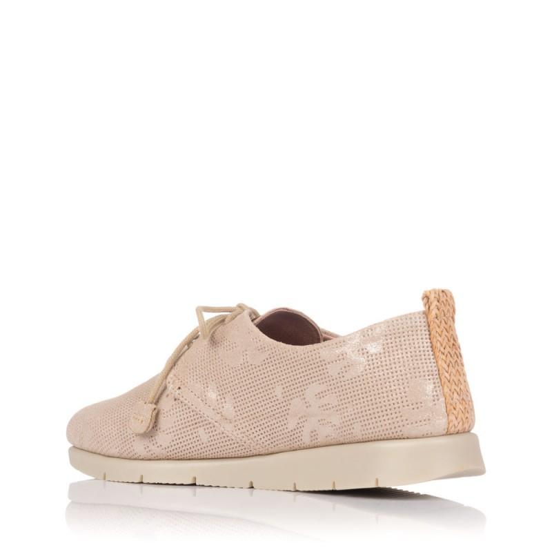 48 HORAS 1801 Zapato Cordones Piel Mujer