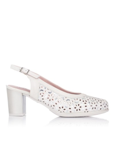 Zapato talon abierto tacon Mujer Pitillos 6051