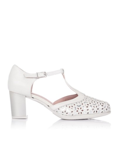 Zapato asandaliado tacon alto Mujer Pitillos 6052