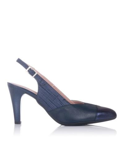 Zapato talon abierto vestir Mujer Pitillos 6063