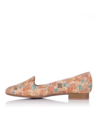 Zapato piel combinado Mujer Maria jaen 1