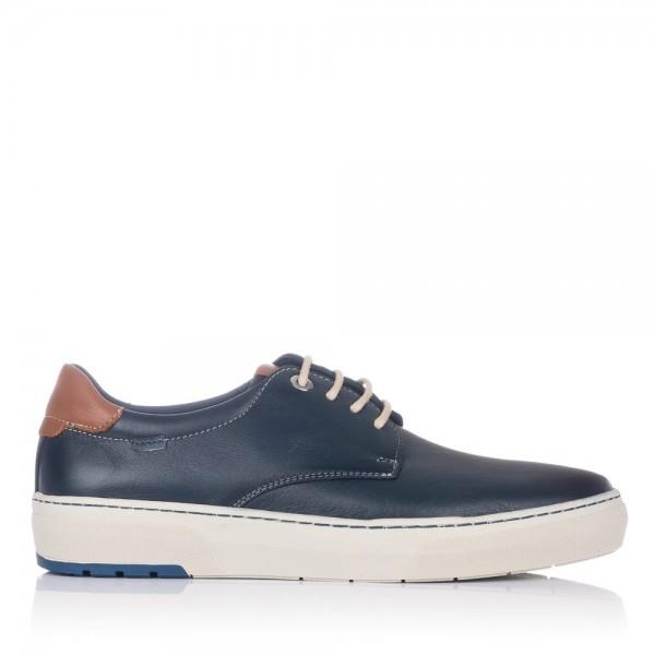 Zapato sport cordones piel Baerchi 5660