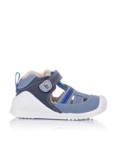 Sandaliada combinada lona Bebe niño Biomecanics 202214
