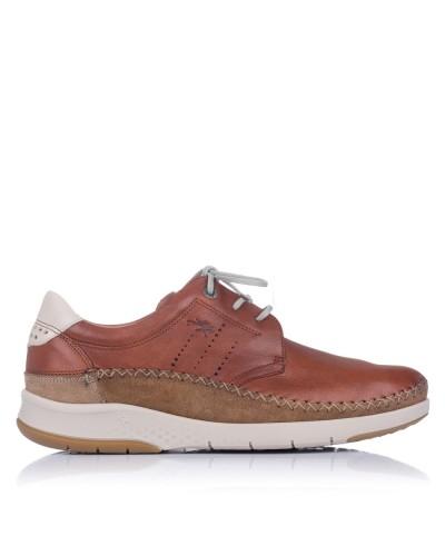 Zapato sport cordones piel Hombre Fluchos F0795