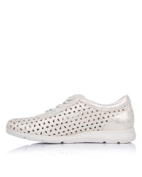 Zapato cordones calado piel Pitillos 6732