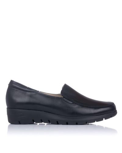 Zapato mocasin piel Mujer Pitillos 2000