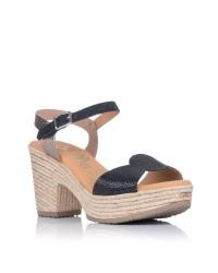 Sandalia piel plataforma Mujer Oh my sandals 4711