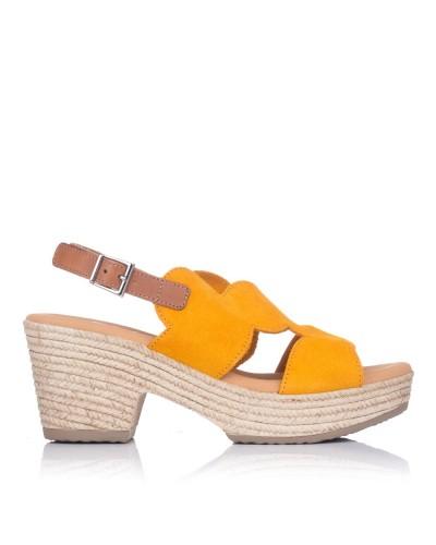 Sandalia ante plataforma Mujer Oh my sandals 4698