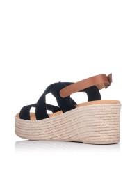 Sandalia tiras ante plataforma Mujer Oh my sandals 4720