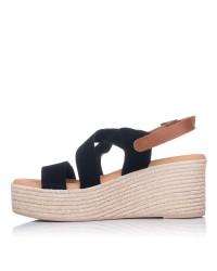 Sandalia tiras ante plataforma Oh my sandals 4720