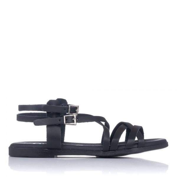 Sandalia romana plana piel Mujer Oh my sandals 4642
