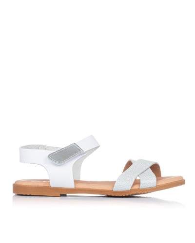 Sandalia piel velcro Oh my sandals 4761